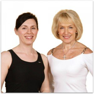 Tracey Amis with Rosemary Conley