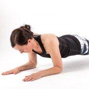 Fitness Pilates Plank